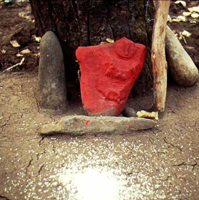 Tribal- Gott aus der Maikal Range