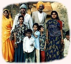 Dorfeinwohner in M.P