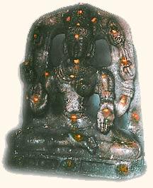 Shiva und Parvati  Halb&Halb