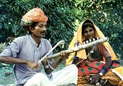 Sarangi- Spieler