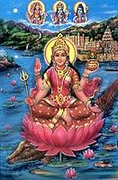 Klick! Narmada- Devi , Die Flussgöttin