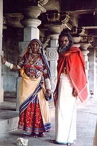 Mittelindische Tracht