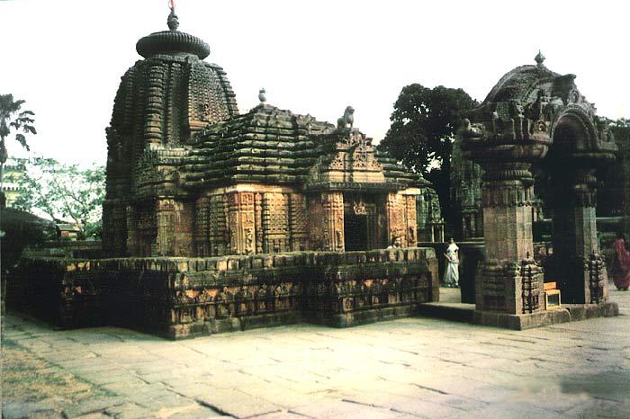 Tempel in Orissa (Ostindien)